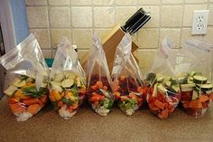 bag meals for the slow cooker and freeze until needed. Brilliant easy dinners!