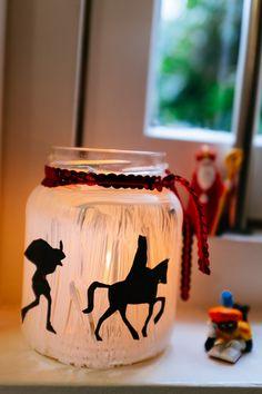 DIY met kinderen: hoe maak je een lichtje voor Sinterklaas? #5