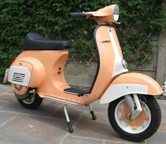Vespa ET3 125cc Primavera. U.K. shopping site, March 7, 2012.