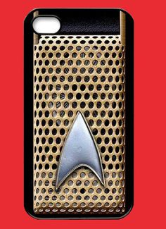 Personalized iPhone 4 case Star Trek Communicator iPhone 4s case - iPhone Hard Case-plastic hard Iphone cover iphone 4s cover