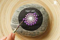 Mandala Stones DIY Tutorial...Nice tutorial for painting your own mandala stones!!