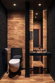 Washroom Design, Bathroom Design Luxury, Modern Bathroom Decor, Modern Bathroom Design, Modern House Design, Modern Houses, Design Kitchen, Bathroom Ideas, Home Room Design