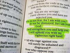 33 Verses about Fear and Anxiety - Hold on to the Truth, you are not alone, He is with you!