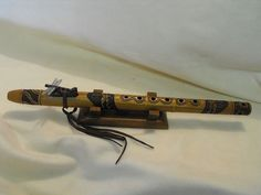 Custom Collectable Native American Style Flute by Billy Crowbeak   eBay