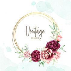 Beautiful wedding card with watercolor background Premium Vector Luxury Wedding Invitations, Beautiful Wedding Invitations, Vintage Grunge, Flower Backgrounds, Colorful Backgrounds, Arte Do Hulk, Wedding Card Design Indian, Thank You Typography, Event Poster Template