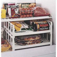 smart kitchen and linen storage upgrades to keep your life organized: freezer shelves