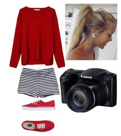 """""""Untitled #346"""" by mockingjay123 ❤ liked on Polyvore featuring Abercrombie & Fitch, Gérard Darel and Vans"""