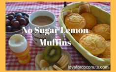 Do you like to bake easy and quick muffins recipes?  Here's a recipe that's perfect for paleo's, vegetarian, people who can't eat regular flour and for you who just like the taste of coconut.