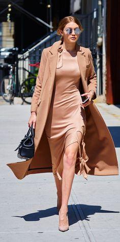 Gigi Hadid Does Mercury Transit in Monochromatic Style | #stunningpostfromVogue | #fromVogue |