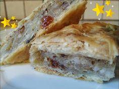 ΜΑΓΕΙΡΙΚΗ ΚΑΙ ΣΥΝΤΑΓΕΣ 2: Ρυζόπιτα με σταφίδες και καρύδια !!! Spanakopita, French Toast, Sandwiches, Sweet Home, Breakfast, Ethnic Recipes, Food, Greek, Morning Coffee
