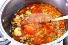 Ágnes:) szakácskönyve: Hortobágyi pulykagulyás Just Eat It, Soups And Stews, Thai Red Curry, Ethnic Recipes, Blog
