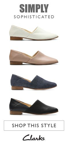 0d022905428b8 Simply sophisticated and full of style, meet Pure Tone from Clarks. These women's  shoes