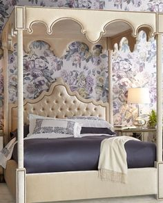 """William Canopy Bed by Haute House at Horchow 