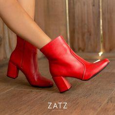 """... on Instagram  """"O vermelho invadiu os calçados ZATZ de inverno. Vocês  gostaram dessa tendência  ❤❤  voudezatz  fashion  zatzcalcados  shoelover   shoes"""" 54a3a8b5c7"""
