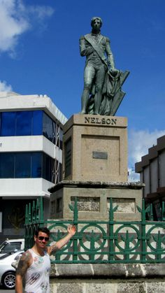 Things to do in Barbados - A must is Nelson's Column!