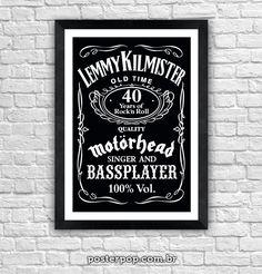 """Poster """"Lemmy - Jack Style"""""""