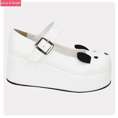Find More Women's Pumps Information about Kawaii Animal Design White Leather Platform Wedge Mary Jane Shoes Sweet Lolita Shoes,High Quality shoe bows,China shoes feiyue Suppliers, Cheap shoes for the stars from Lorie & Knight on Aliexpress.com