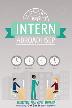 Live like a local: Intern abroad with ISEP. Check out our 2015-2016 ISEP Study Abroad catalog.