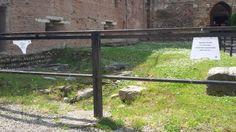 Bucato medievale al giardino del Castel Vecchio di Verona.