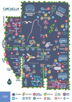 Twitter / coachella : The 2014 festival maps have ...