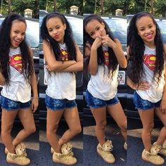 Image result for Baby A instagram from young fly girlz