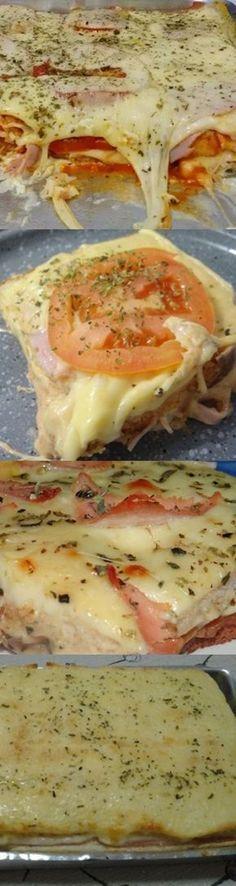 Bauru De Forno #bauru #lanche #baurudeforno #receita #culinária #gastronomia #pilotandofogão