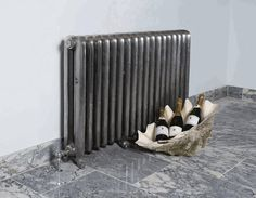 Duchess cast iron radiator in a Hand Burnished finish. Other finishes are available in this style radiator which can be viewed at UKAA