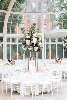 Brooklyn Botanical Garden Wedding Purple Weddings Brooklyn