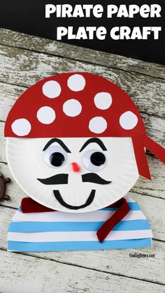 Image result for pirate face crafts for kids