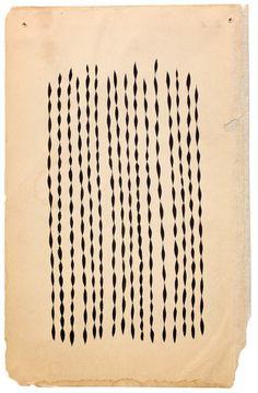 Margaret Kilgallen Untitled, c. 2000 Acrylic on paper 8.25 x 5.25 inches