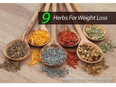 9 Herbs For Weight Loss: A Slimming Herbal Tea Recipe