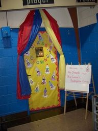 Circus Tent Bulletin Board | circus themed classroom pictures - Google Search