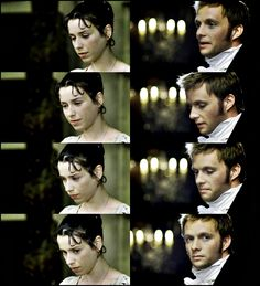 Anne Elliot & Captain Wentworth <3 Captain Wentworth gets the award for most attractive Austen man in all the mini-series