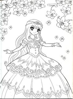 387 Best Anime Coloring Images Coloring Pages Coloring Books