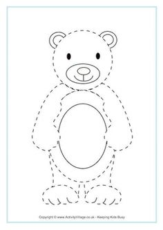 Printable template for the Sharing Something Sweet craft