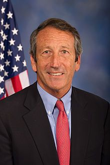 """Marshall Clement """"Mark"""" Sanford, Jr. - Republican from South Carolina voted no to replenish Israel's #IronDome missile defense."""