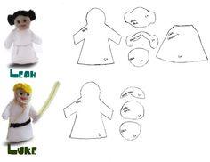Free Star Wars Finger Puppet Pattern | Make It Sing