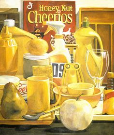 cheerios by dpaynearteacher, via Flickr  love the idea of all one color still life