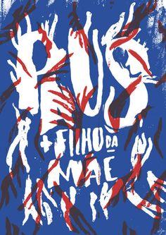 The Portuguese Conspiracy – PAUS + Filho da Mãe. Designed by Sara Westermann Graphic Design Layouts, Graphic Design Typography, Graphic Design Inspiration, E Design, Layout Design, Behance, Artisanal, Poster Prints, Creative