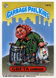 Garbage Pail Kids Original Series 4   GEEPEEKAY