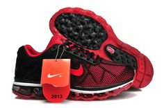 best website 13f0a 48ad0 Women Nike Air Max 2009 Black Red Bigger Size