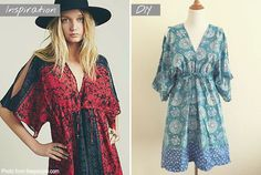 Make your own Free People inspired summer dress!