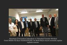 Hacettepe Üniversitesi Teknokent ve Teknoloji Transfer Merkezi  Genel Müdür Sn.İlyas YILMAZYILDIZ ile Multi-Buyer heyeti arasında yapılan  toplantı sonrası.