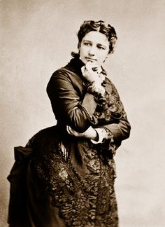 Victoria Woodhull, the first woman to run for President of the United States of America, almost 50 years before women had the right to vote