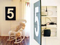 Oversized Art Storage - 15 Secret Hiding Places That Will Fool Even the Smartest Burglar. This is brilliant Secret Storage, Art Storage, Storage Hacks, Hidden Storage, Storage Area, Extra Storage, Hidden Shelf, Hidden Safe, Hidden Doors
