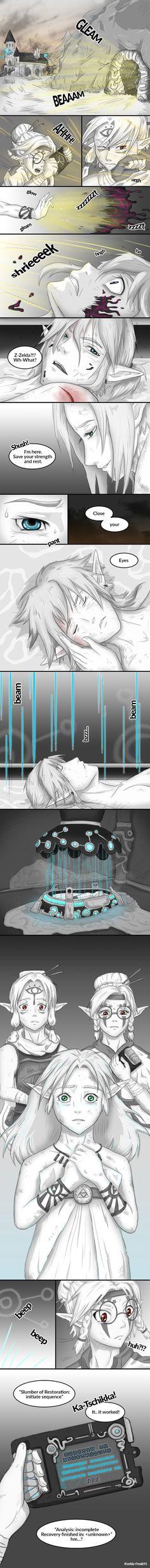 Zelda comic: broken part 5