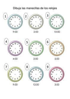 Espacio de PT: ¿Qué hora es? Más
