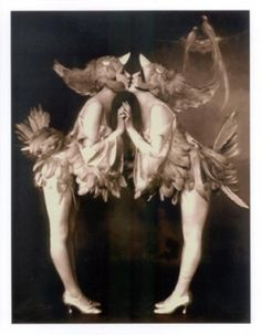 The Dolly Sisters, twins Roszika (Rosie) and Janszieka (Jenny) Deutsch were Vaudeville performers.