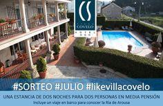 Sorteo Julio #LikeVillaCovelo