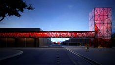 nestle factory in brazil - metro arquitetos associados